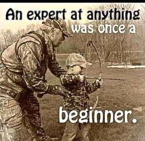Beginner bow expert