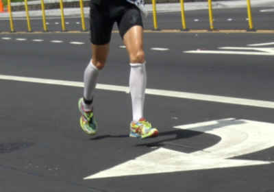 Runner-in-Compression-Socks